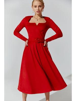 Платье красное | 5681950