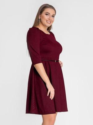 Платье бордовое | 5682011
