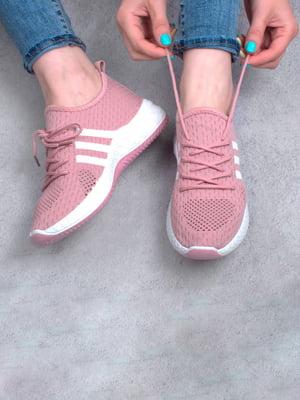Кросівки рожевого кольору | 5643910