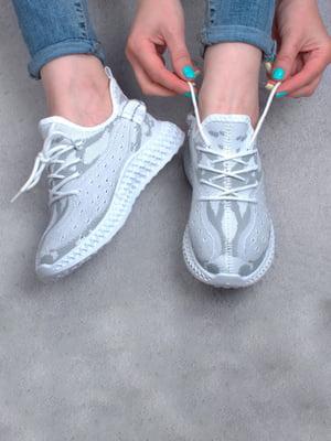 Кросівки біло-сірі | 5643918