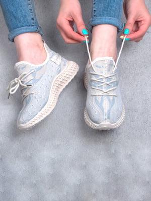 Кросівки бежевого кольору | 5643919
