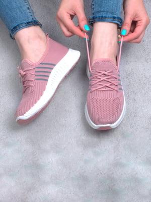 Кроссовки розового цвета | 5643928