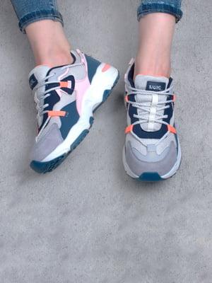 Кросівки комбінованого кольору | 5643958