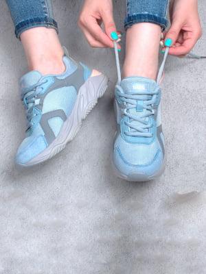 Кросівки блакитного кольору | 5643960