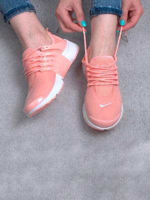 Кроссовки кораллового цвета | 5644013