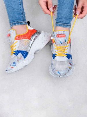 Кросівки комбінованого кольору | 5644285