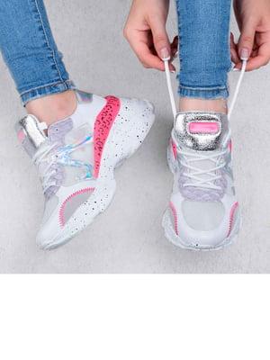 Кросівки рожево-сріблястого кольору | 5644286