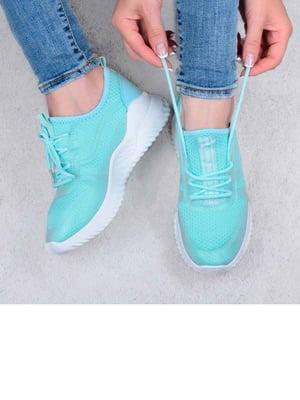Кросівки бірюзового кольору | 5644322