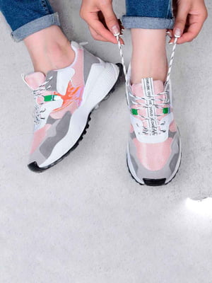 Кросівки комбінованого кольору | 5644343