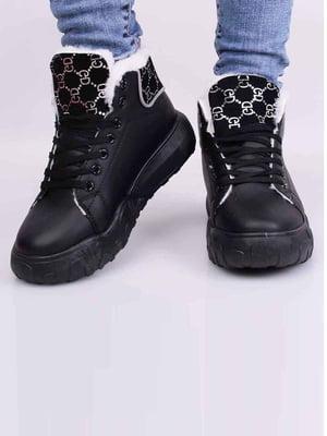 Кросівки чорні | 5645427