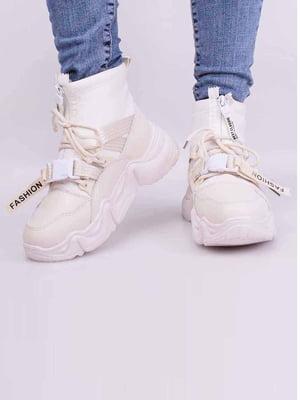Кросівки бежевого кольору | 5645430