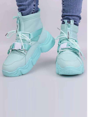 Кросівки бірюзового кольору | 5645436