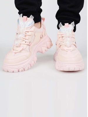 Кросівки рожевого кольору | 5645607
