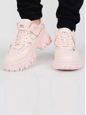 Кроссовки розового цвета | 5645615