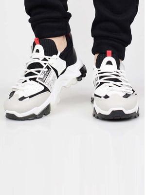 Кросівки біло-сірі   5645618