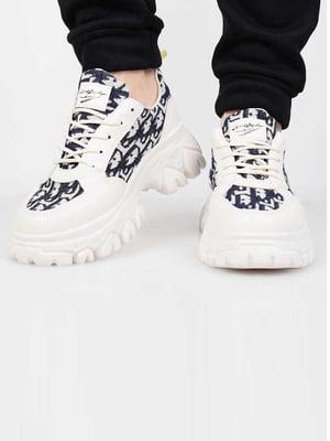 Кросівки бежевого кольору | 5645641