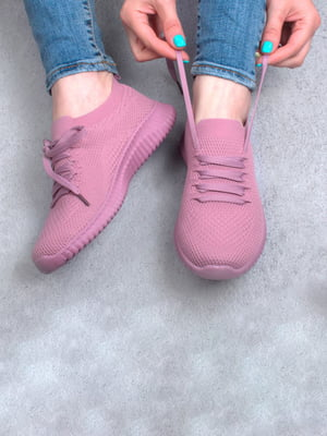 Кросівки рожевого кольору | 5645679