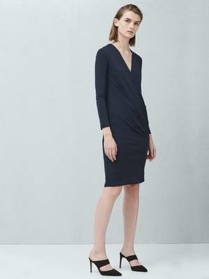 Платье темно-синее | 5233637