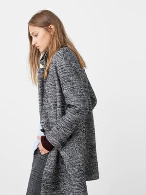 Пальто сіро-чорне | 5233747