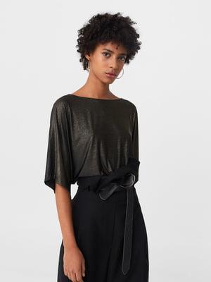 Блуза черно-золотистого цвета | 5233756