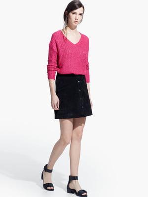 Пуловер кольору фуксії | 5234018