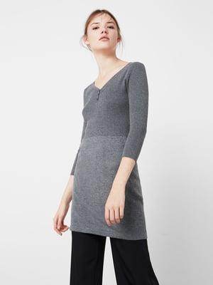 Платье серое | 5234223