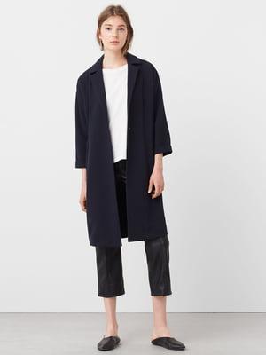 Пальто темно-синє | 5234285