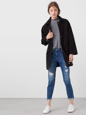 Пальто чорне | 5234334