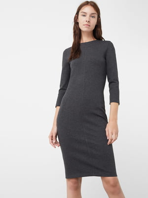 Платье темно-серое | 5234351