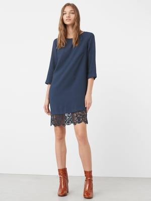 Платье синее | 5234416
