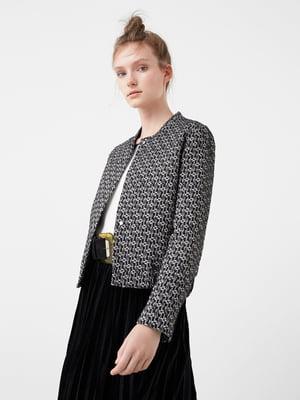 Куртка черно-белая | 5234447
