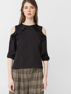 Блуза черная | 5234457