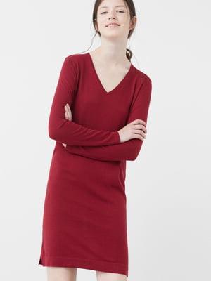 Платье вишневого цвета | 5234660