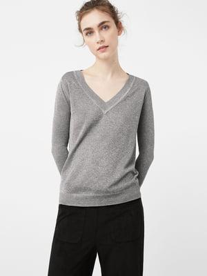 Пуловер серый | 5234709