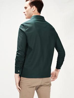 Лонгслив темно-зелений | 5235151