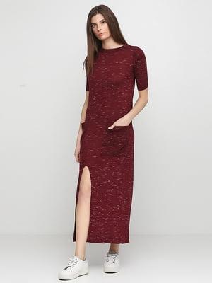 Платье бордовое | 5239960