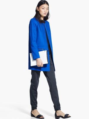 Пальто ярко-синее | 5668959