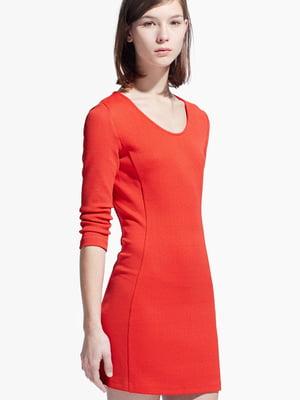 Платье темно-оранжевое | 5668960