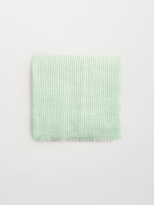 Шарф зеленый | 5669159