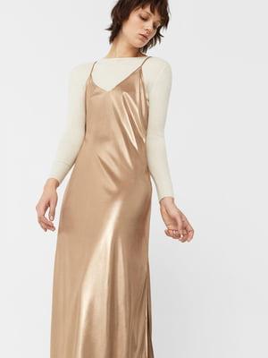 Платье медного цвета | 5669172
