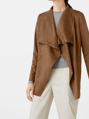 Куртка коньячного кольору | 5669192