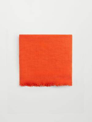 Шарф оранжевый | 5669215