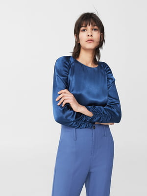 Блуза синяя | 5669247