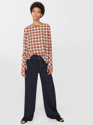 Блуза клетчатая   5669254