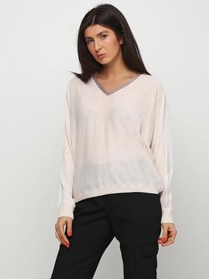 Пуловер бежевый | 5669322