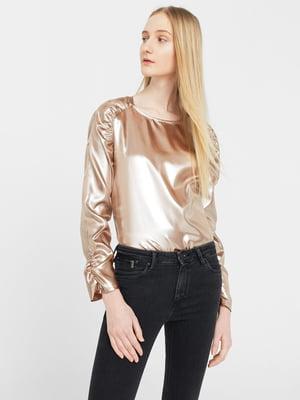 Блуза золотистая | 5669341