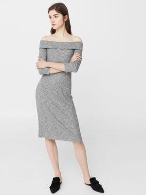 Платье серое | 5669389