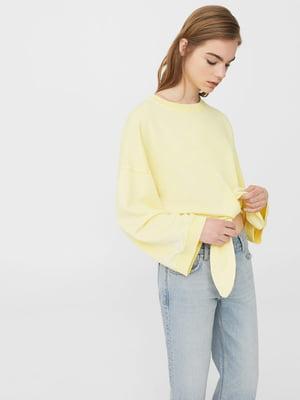 Свитшот желтый | 5669421