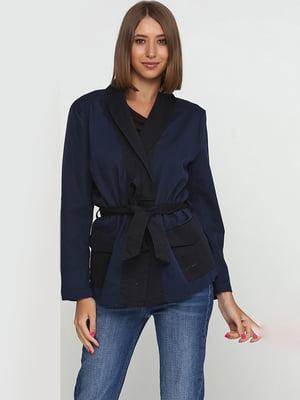 Жакет темно-синій | 5680165