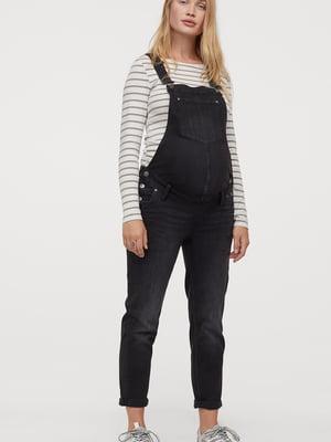 Комбінезон для вагітних чорний | 5680260